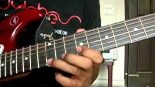 Sayonee - Junoon -  Guitar Lesson - NJNE