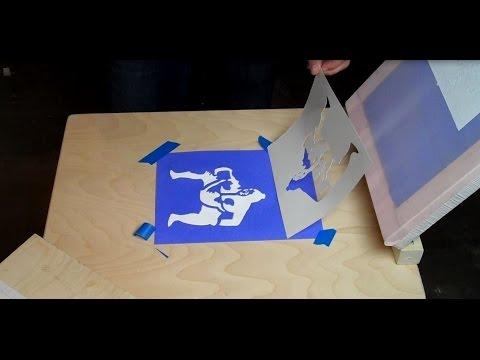 DIY build a Silk Screen for under $10.00