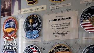 Estella Gillette, former Apollo Secretary
