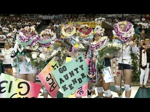 Rainbow Wahine Volleyball 2017 - Hawaii Vs LBSU