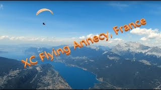 Paragliding Annecy, France