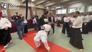 Александр Емельяненко vs Стивен Сигал. Мастер-класс