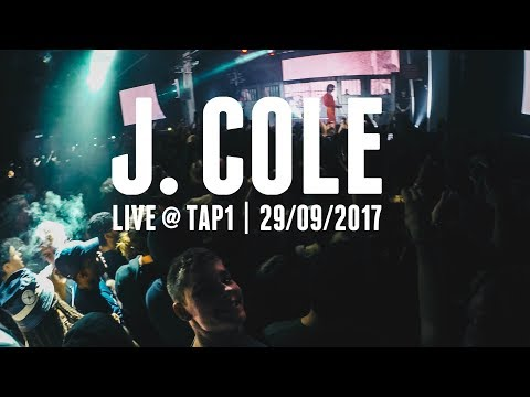 J. Cole Live @ Tap1 2017 feat. EARTHGANG & J.I.D)
