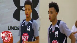 8th Grader Paul McMillan SHOWS OUT in Chicago!  - UA Next Jr NBA Combine