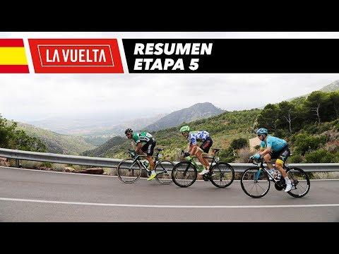 Resumen - Etapa 5 - La Vuelta 2017