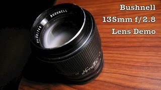 Bushnell 135mm f/2.8 Fixed Aperture m42 Mount Telephoto Lens For Old Single Lens Reflex Cameras
