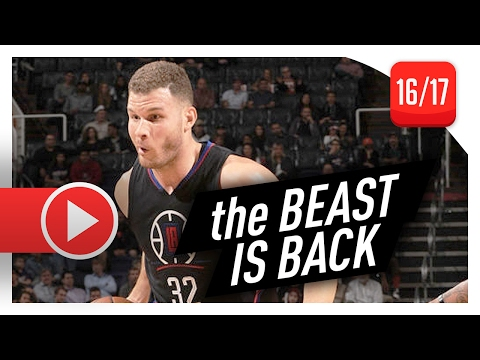 Blake Griffin Full Highlights vs Suns (2017.02.01) - 29 Pts, 8 Reb, 5 Ast