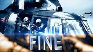 "Battlefield 4: ""FINE"" Cinematics MONTAGE [2160p]"