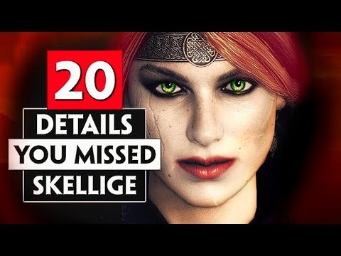 20 Details You Probably Missed in Skellige   THE WITCHER 3