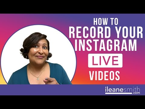 How To Record Your Instagram Live Video on Mac