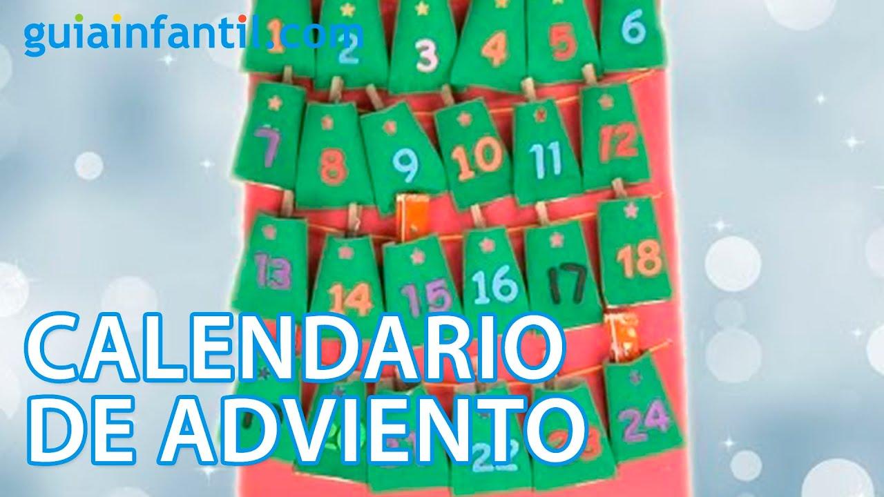 Calendario de Adviento Manualidad reciclada para Navidad YouTube