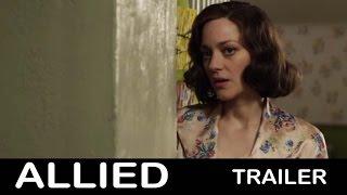 فيديو.. طرح «تريلير» جديد لفيلم «Allied» لبراد بيت وماريون كوتيار
