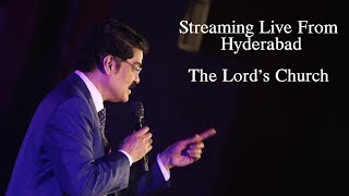 Live from Hyderabad | The Lord's Church WORSHIP 25-11-2018 | Dr Jayapaul | Raj Prakash Paul