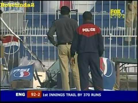 Terrorist attack at cricket match in Pakistan