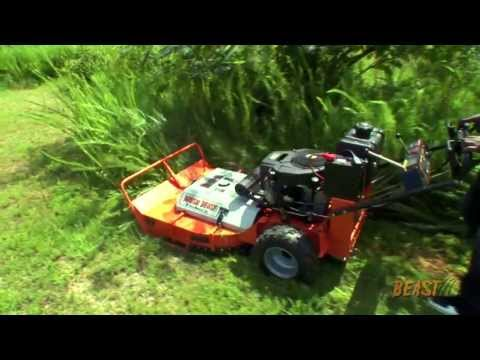 Heavy Duty Brush Mower/Field Mower. 36-inch Brush Beast Rough Terrain Brush Mower