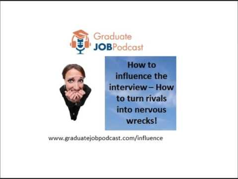 How to turn rivals into nervous wrecks - (How to Influence the Interview - Chris Delaney #28)