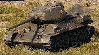 World of Tanks T-34-85M - 7 Kills 5,2K Damage