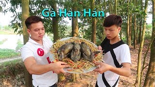 Hữu Bộ | Thử Làm Món Gà Đen Hạn Hán | Gà Luộc Không Cần Nước