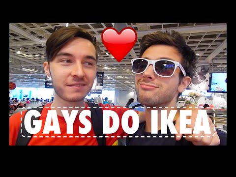 GAY BOYS DO IKEA