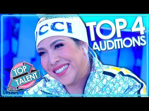 TOP 4 Auditions on Philippines Idol | WEEK 1 | Top Talent