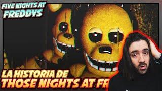La Historia Completa DE THOSE NIGHTS AT FREDBEARS | | Five Nights at Freddy´s | FNAF REACCION