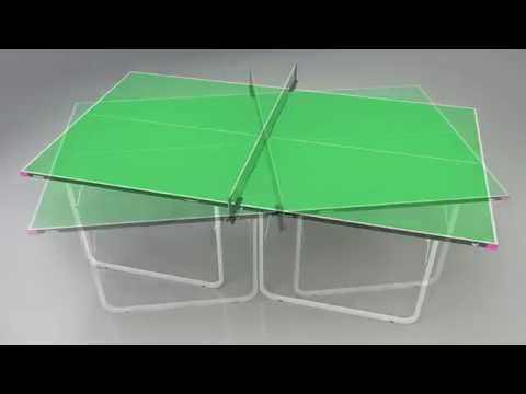Butterfly Compact Indoor 19 Table Tennis Table