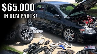 Building an EVO today would cost over $65,000! - OEM parts add up.