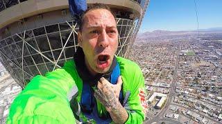 Download The STRAT SkyJump Las Vegas - TERRIFYING!!! Travel Vlog