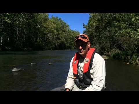 Jackson River Tailwaters Raft Electrofishing