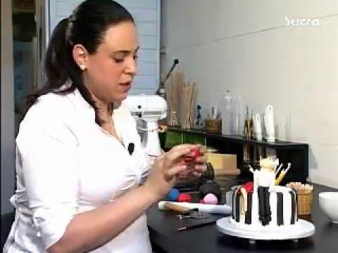 Cake Decorating Company Massa : Aula de Cake Design - Decoracao com pasta Americana - Vol ...