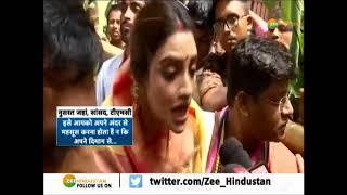 कट्टरपंथियों को Nusrat Jahan का करारा जवाब, जगन्नाथ यात्रा में हुईं शामिल