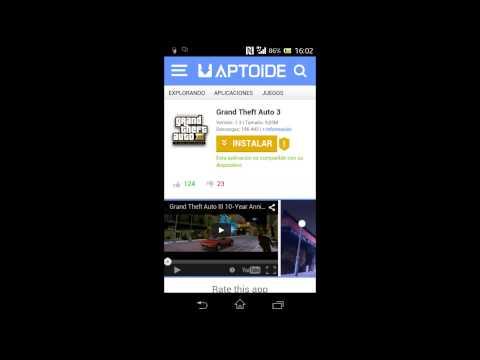 -Tutorial-  /Descargar e instalar GTA 3 para Android/ Bymax OmG