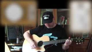 Sultans Of Swing - Dire Straits - Rhythm Acoustic Guitar Lesson (easy - ish)