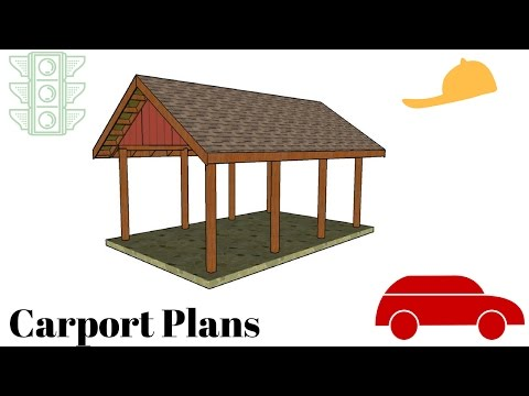 Carport Plans Free