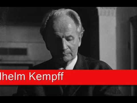 Wilhelm Kempff: Chopin - Berceuse in D flat major, 'Andante' Op. 57