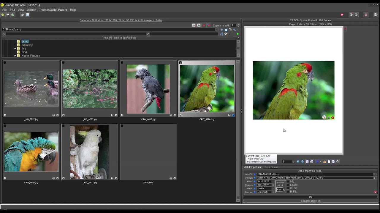 Qimage Ultimate Quick Demo - YouTube