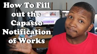 How to Fill in the Capasso Notification of Works | Tutorial