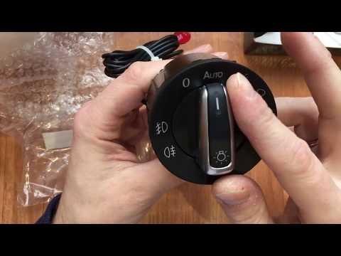 Переключатель света фар с автоматическим включением фольцваген ( часть 1)