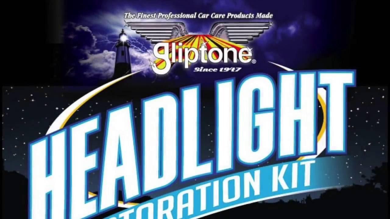 Quick & Easy Headlight Restoration with Gliptone's Kit - YouTube