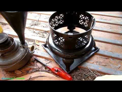 Perfection Kerosene heater with DIESEL, Test 2