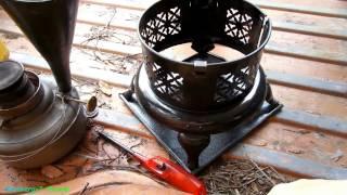 Perfection Kerosene heater with DIESEL, Test 2