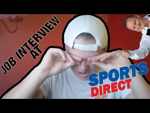 MY SPORTS DIRECT JOB INTERVIEW!!!