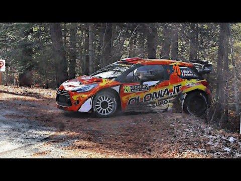 WRC Rallye Monte Carlo 2019 | CRASH & MISTAKES [HD]