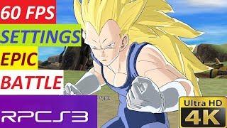 Ps3 Emulator Rpcs3 Dragonball Raging Blast 60 Fps Settings