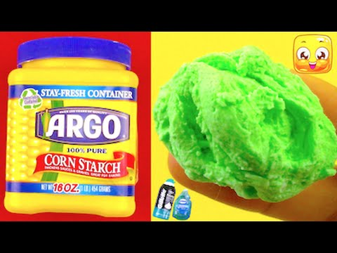 DIY Fluffy Slime Without Glue, Borax, Liquid Starch ...