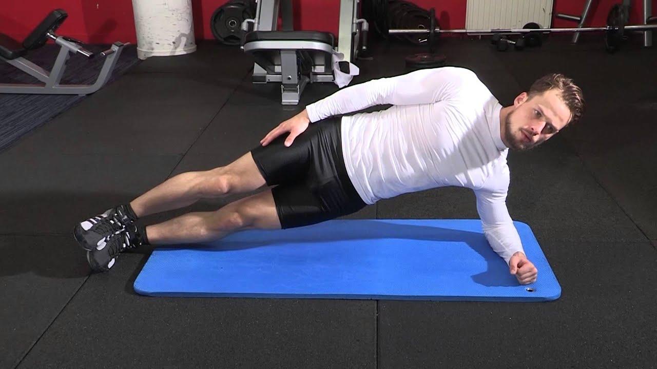 Exercice de musculation abdominaux - Planche latérale ...