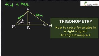 Solving triangles: Example 2