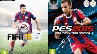 FIFA 15 Vs Pro Evolution Soccer 2015 PC