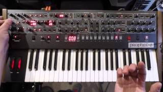 Sequential Prophet-6 first look
