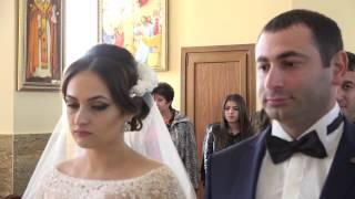 Видеосъёмка в Краснодаре и Адыгее. Красивая армянская  свадьба Агасина и Дарины 30.10.2015.